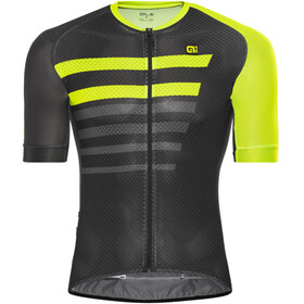 Alé Cycling PRR 2.0 Piuma SS Jersey Men black-fluo yellow